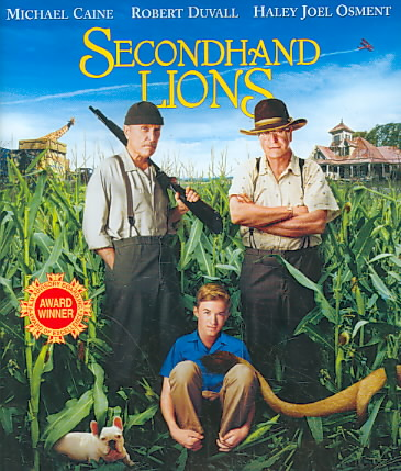 SECONDHAND LIONS BY OSMENT,HALEY JOEL (Blu-Ray)